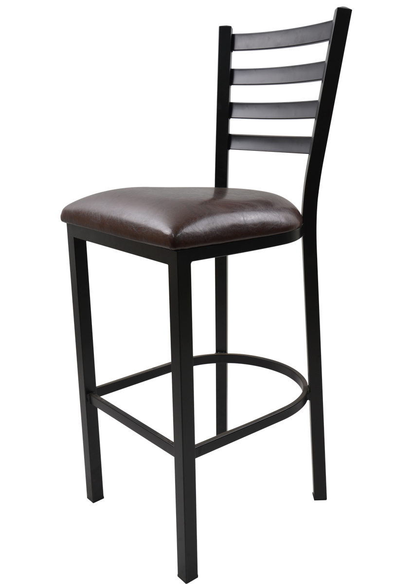 Metal Bar Stools With Upholstered Seat
