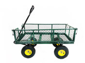 Utility Heavy Duty Steel Garden Wagon Cart